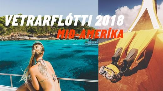 Vetrarflótti KILROY 2018 - Mið-Ameríka
