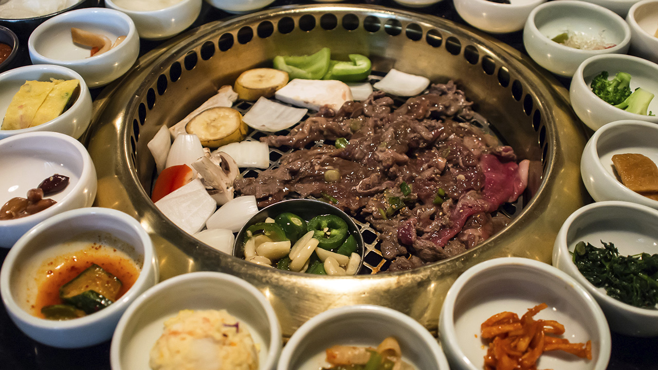 South Korean BBQ - Seoul